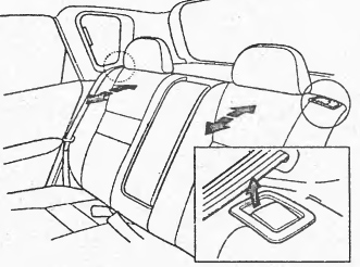 Регулировка угла наклона спинки второго ряда сидений honda civic ferio