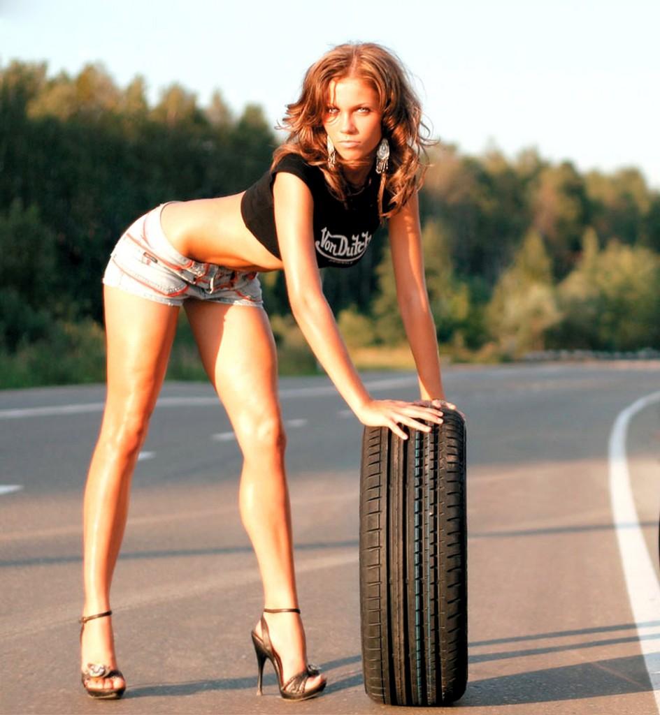 Проверяйте давление в шинах