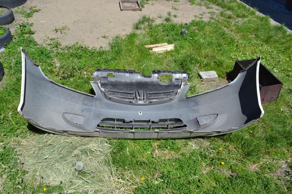 Передний бампер Honda Civic Feio вид изнутри