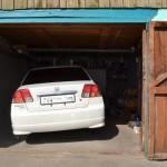 Замена передних сайлентблоков в Honda Civic Ferio ES-1
