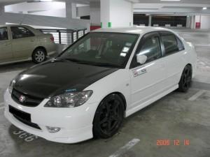 Как может выглядеть Honda Civic Ferio / Тюнинг / самое горячее фото