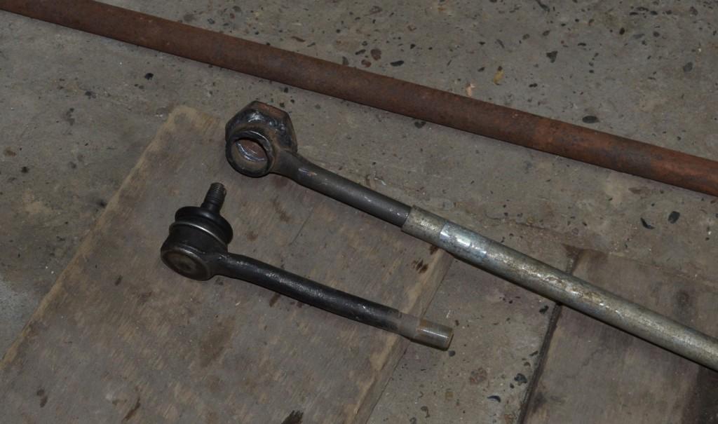 Из чего был сделан ключ для снятия шкива коленчатого вала