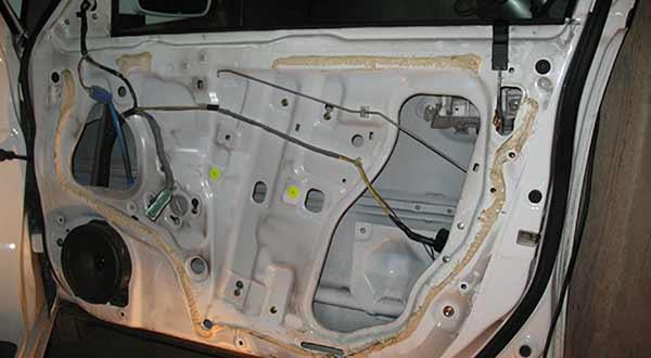 Honda Civic / Снимаем отделку двери / Хонда Сивик Ферио
